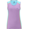 Salomon W's Trail Runner Tank Clearwater Blue/Orchid Lila (L35928400)